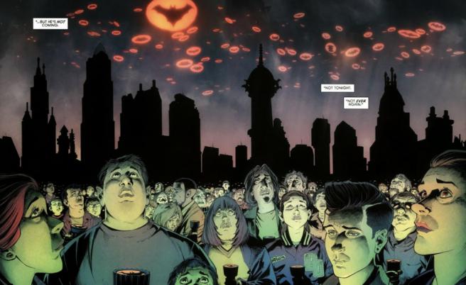 Batman, Divergence, Greg Capullo