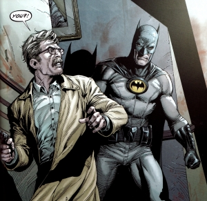 Batman: Earth One, Gary Frank, Jim Gordon