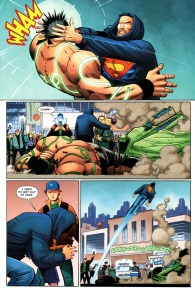 Divergence #1, Superman, John Romita Jr.