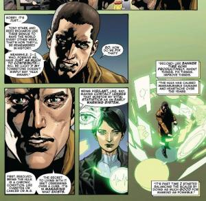 Indestructible Hulk #1, Bruce Banner, Maria Hill