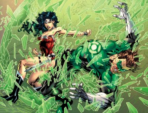 Justice League, Jim Lee, Green Lantern, Wonder Woman