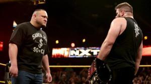 Samoa Joe, Kevin Owens, NXT Takeover