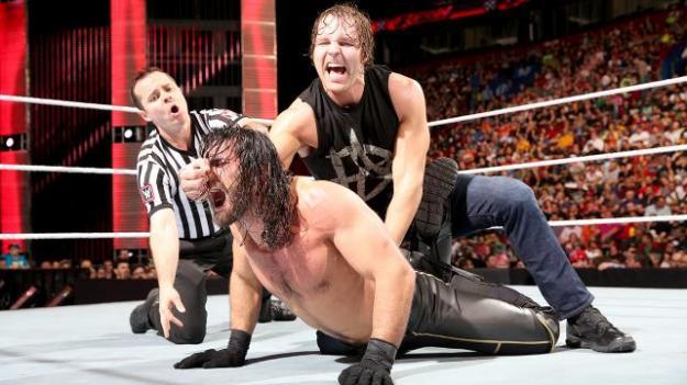 Dean Ambrose, Seth Rollins, WWE Raw, 05/04/2015