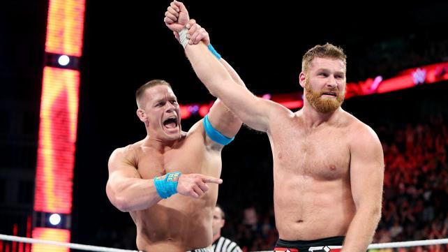 Sami Zayn, John Cena, Raw, April 4, 2015