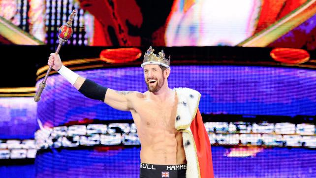 King Barrett, Raw, 05/04/2015