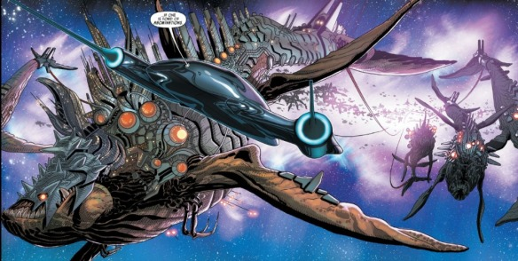 Darth Vader #5, space whales