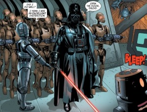 Darth Vader #5, Triple-Zero, Salvador Larroca