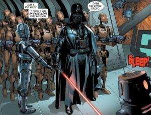 Darth Vader #5, Triple-Zero, Salvador Larroca