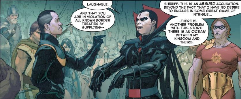 Secret Wars #2, Doctor Strange, Mr. Sinister