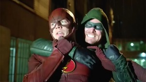 The Flash, Arrow, crossover