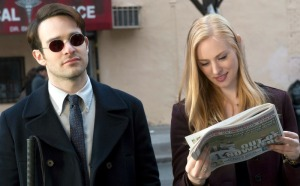 Netflix's Daredevil, Charlie Cox, Deborah Ann Woll