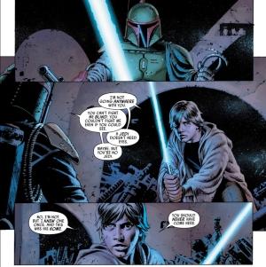 Star Wars #6, John Cassaday, Luke Skywalker, Boba Fett