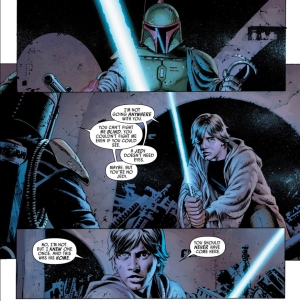 Star Wars #6, John Cassaday, Luke Skywalker, Boba Fett