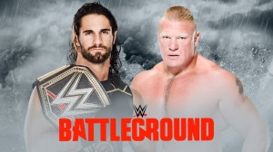 WWE Battleground 2015, Seth Rollins, Brock Lesnar
