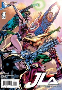 Justice League of America #1 (2015)