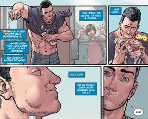 Action Comics #41, hungry