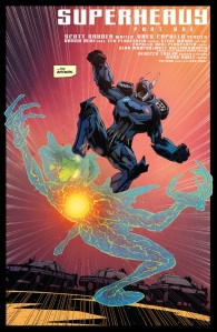 Batman #41, title page