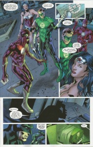 Justice League of America #1, interior