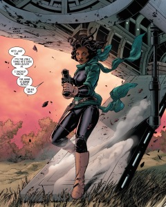 Star Wars #6, Sana Solo