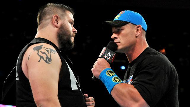 WWE Raw, June 8, 2015, John Cena, Kevin Owens