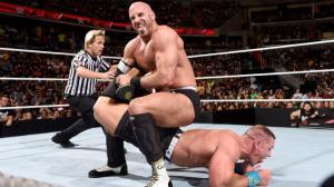 Cesaro, John Cena, Raw, 06292015