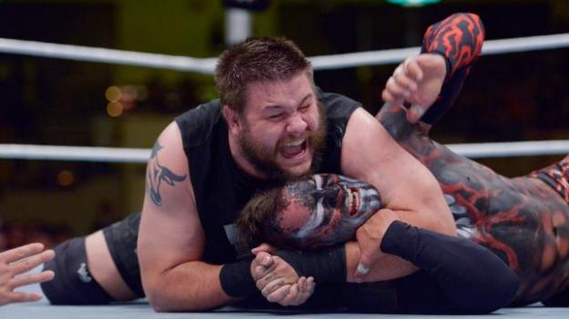 Kevin Owens, Finn Balor, WWE Beast in the East, July 4, 2015