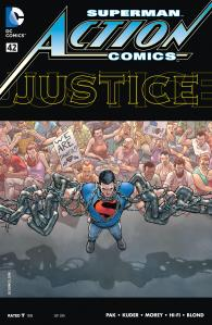 Action Comics #42 cover