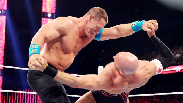 John Cena, Cesaro, Raw, 07/06/2015