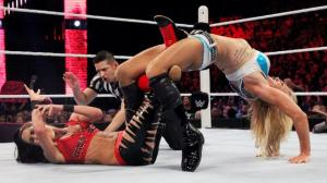 Charlotte, Brie Bella, Raw, 09/20/2015