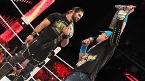 WWE Raw, 09/20/2015, Seth Rollins, John Cena