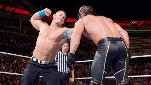 John Cena, Seth Rollins, WWE Raw, July 27, 2015