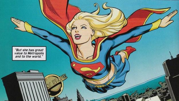 Supergirl #50, Helen Slater
