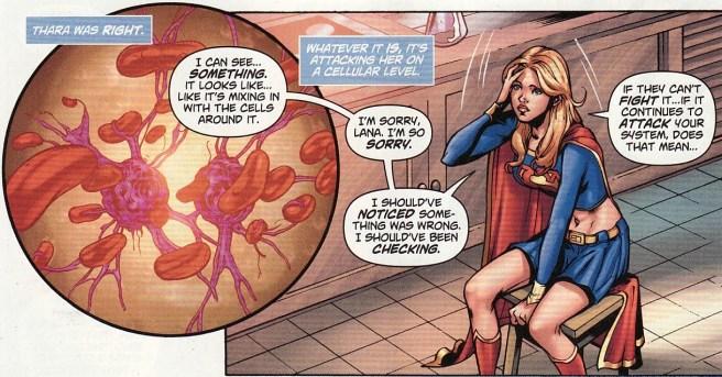 Supergirl #48, Lana Lang, sickness