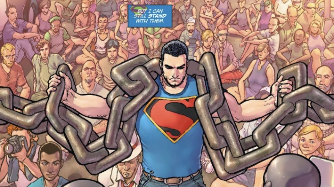 Action Comics #42, chains