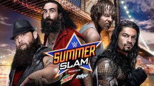WWE Summerslam 2015, Roman Reigns, Dean Ambrose, Bray Wyatt, Luke Harper