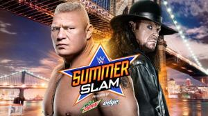 WWE Summerslam 2015, Brock Lesnar, The Undertaker