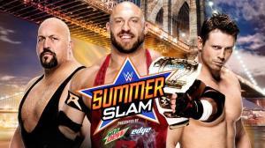 WWE Summerslam 2015, Miz, Ryback, Big Show