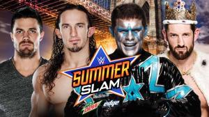 WWE Summerslam 2015, Stardust, Stephen Amell