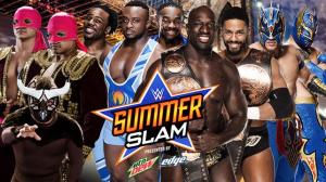 WWE Summerslam 2015, tag match