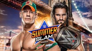 WWE Summerslam 2015, John Cena, Seth Rollins