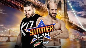 WWE Summerslam 2015, Kevin Owens, Cesaro