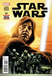 Star Wars #7 cover, John Cassaday