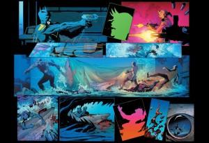 Batman $43, Greg Capullo, sharks