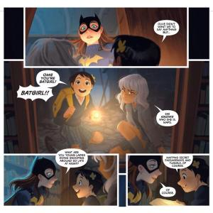 Batgirl Annual #3, Mingjue Chen