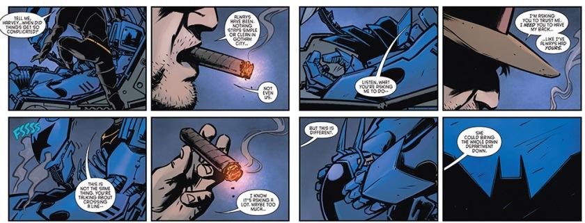 Detective Comics #43, Bullock, Gordon