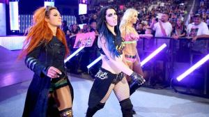 Paige, Charlotte, Becky Lynch, WWE Raw, August 3, 2015
