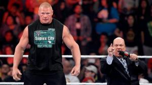 WWE Raw, August 3, 2015, Brock Lesnar, Paul Heyman