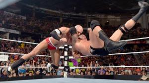 Monday Night Raw, Randy Orton, Cesaro, August 10, 2015