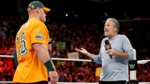 WWE Raw, August 24, 2015, Jon Stewart, Jon Cena