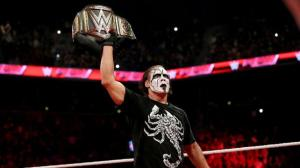 WWE Raw, August 24, 2015, Sting